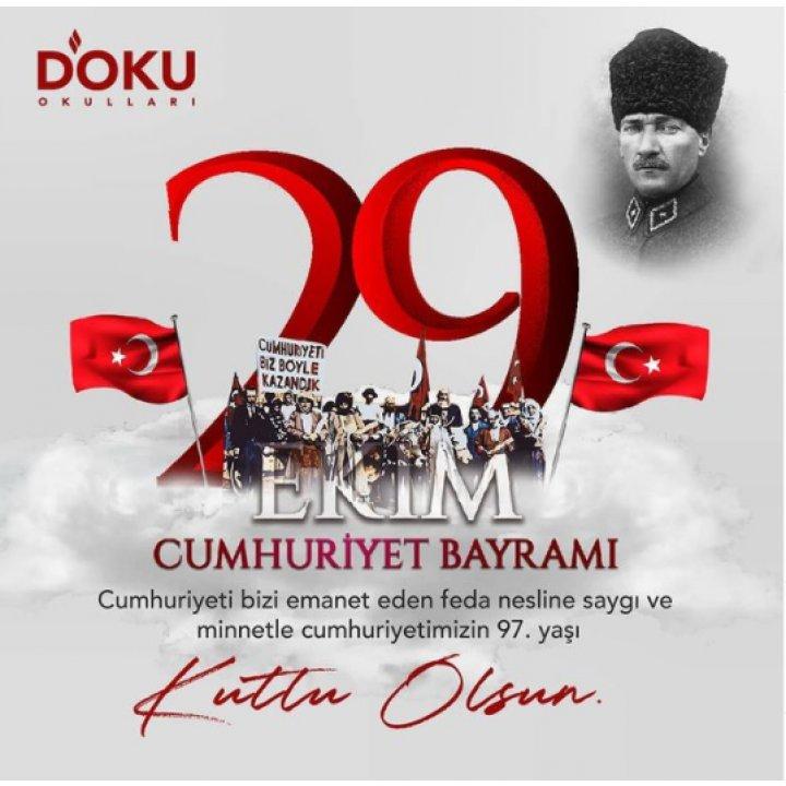 29 Ekim Cumhuriyet Bayramımız Uzaktan Kutlanacaktır.