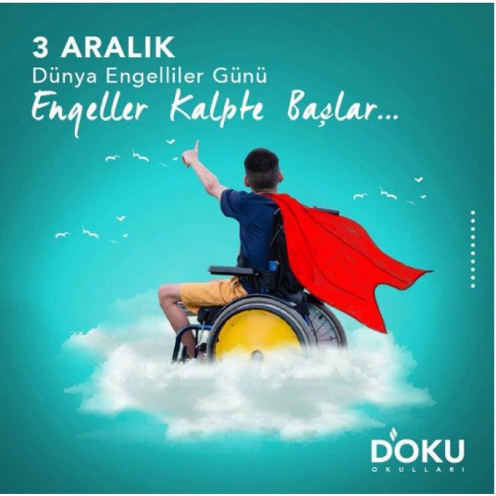 Doku Okulları olarak Türk İşaret Dili derslerimizle öğrencilerimizde farkındalık oluşturmaya yönelik çalışmalarımız devam ediyor..