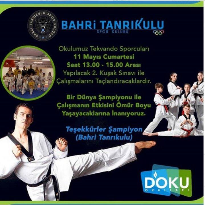 Taekwondo Kuşak Sınavı