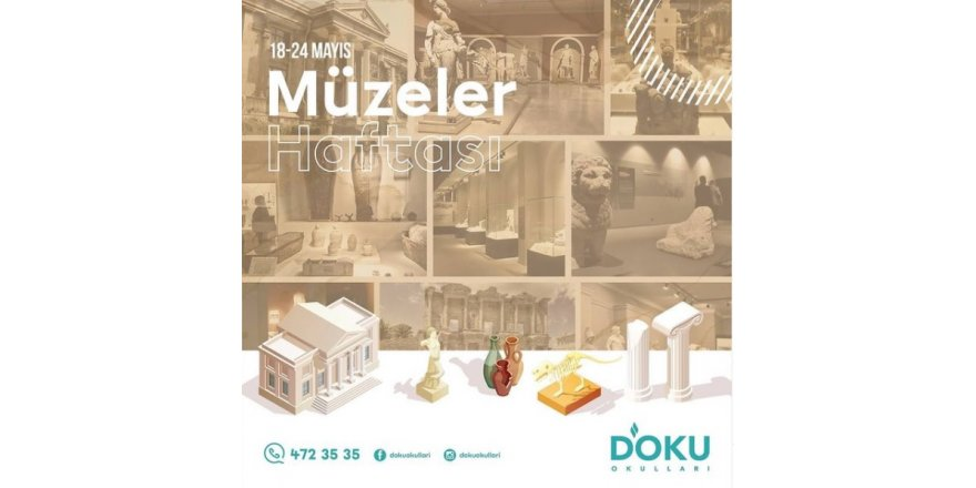 Müzeler Haftası Kutlu Olsun