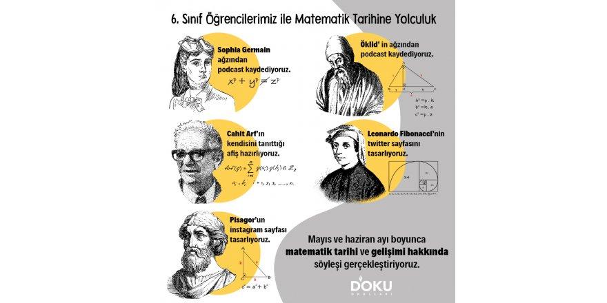 Matematik tarihine yolculuk yapıyoruz..