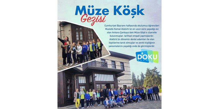 Doku Okulu Öğrencileri Müze Köşk'teydi.