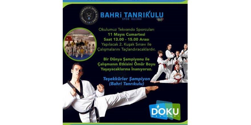 Taekwondo Kuşak Sınavı Gerçekleştirildi