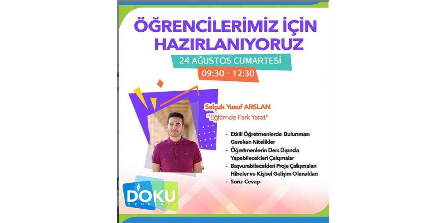 Selçuk Yusuf Arslan Liderliğinde Eğitimde Fark Yarat Semineri Düzenlendi
